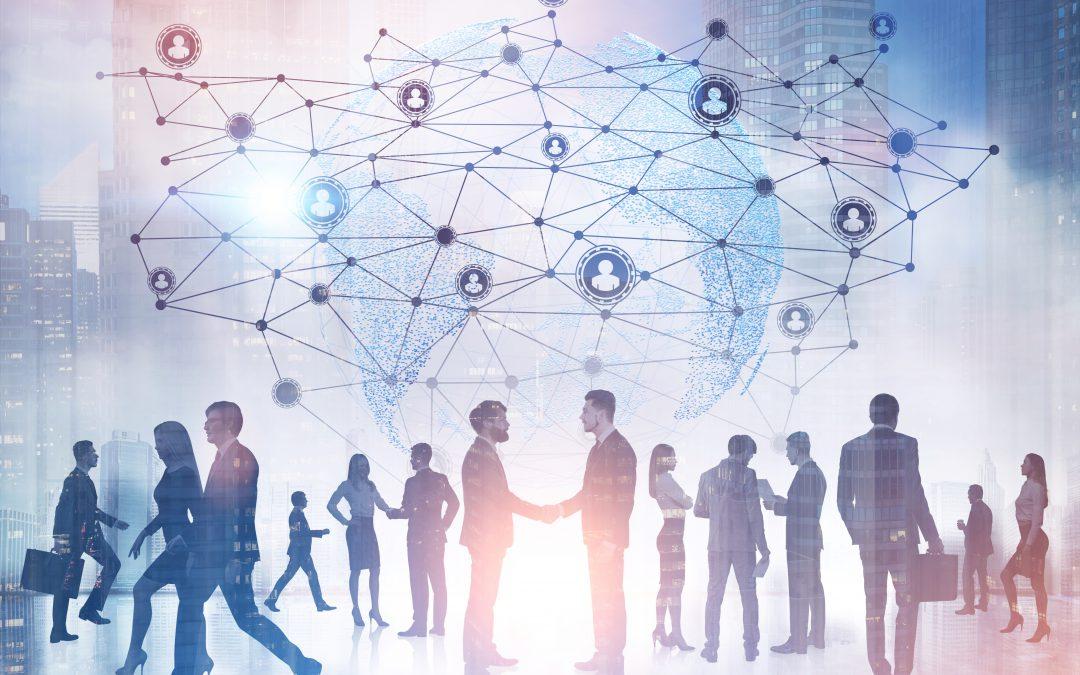 Verkleinert sich Ihr berufliches Netzwerk?  Wie man Verbindungen herstellt, trotz sozialer Distanz.