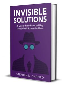 Invisible Solutions Book