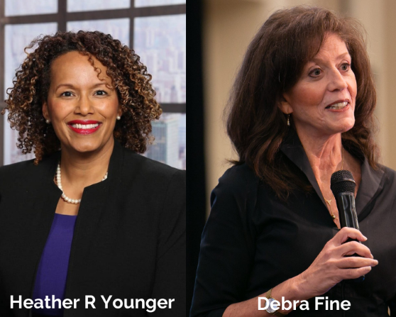 Minisode: Get Connected with Heather R Younger and Debra Fine, Featured Speakers at Crestcom's Virtual Leadership Summit