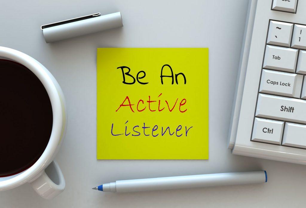 leadership qualities of a better listener
