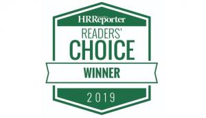 2019 Canadian HR Reporter Reader's Choice Award